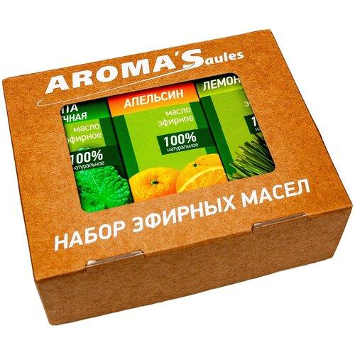 AROMA'Saules набор эфирных масел Антистресс, 30 млх 3 шт.