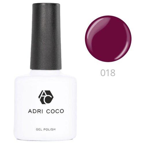 Купить Гель-лак для ногтей ADRICOCO Gel Polish, 8 мл, 018 бургунди