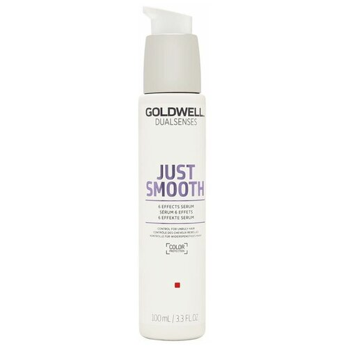 Купить Goldwell DUALSENSES JUST SMOOTH Сыворотка 6-кратного действия для непослушных волос, 100 мл