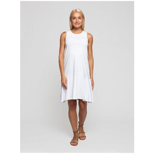 Женское легкое платье сарафан, Lunarable белое, размер 52
