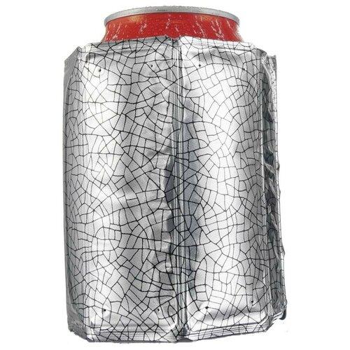 Фото - Чехол для бутылки VacuVin Active Cooler Can, серебристый охладительная рубашка active cooler can silver j hook 0 33 л 38835606 vacuvin