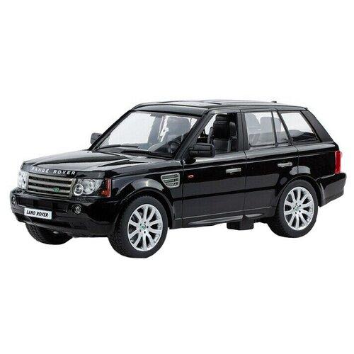 Внедорожник Rastar Land Rover Range Rover Sport (28200) 1:14 34 см черный легковой автомобиль rastar land rover discovery 3 21900 1 14 черный