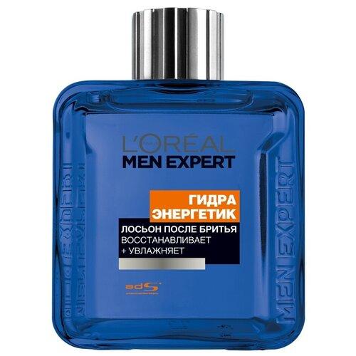 Лосьон после бритья Гидра энергетик L'Oreal Paris, 100 мл l oreal men expert гидра энергетик лосьон после бритья