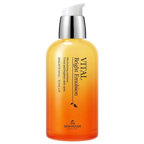 Купить The Skin House Vital Bright Emulsion Витаминизированная осветляющая эмульсия для лица, 130 мл