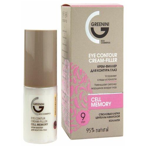 Greenini Крем-филлер для контура глаз Eye Contour Cream-Filler, 30 мл  - Купить