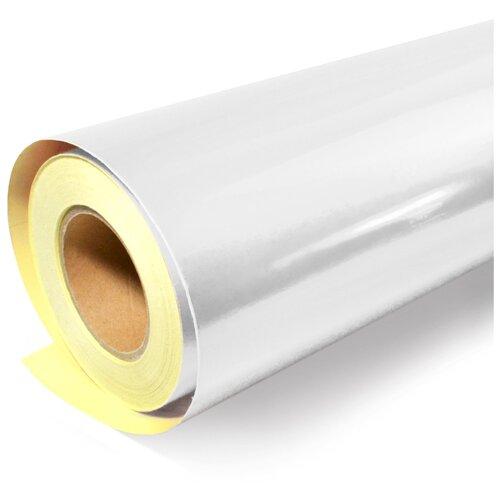 Светоотражающая самоклеющаяся плёнка, цветная - для тюнинга авто и рекламной продукции: 124х100 см, цвет: белый