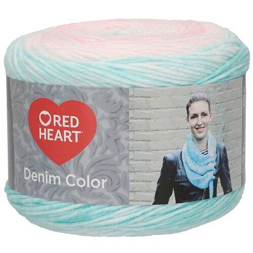 Купить Пряжа для вязания Red Heart 'Denim color' 150гр 340м (100% акрил) (00004 лилия) 3 мотка