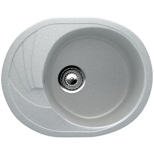Фото - Врезная кухонная мойка 57 см EcoStone ES-17 310 серый врезная кухонная мойка 103 см ecostone es 29 308 черный