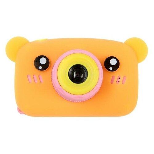 "Фотоаппарат Сима-ленд KIDS Fun Camera Bear ""Мишка"" оранжевый"