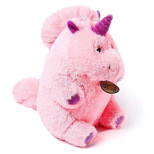 Мягкая игрушка Lapkin Единорог розовый 22 см