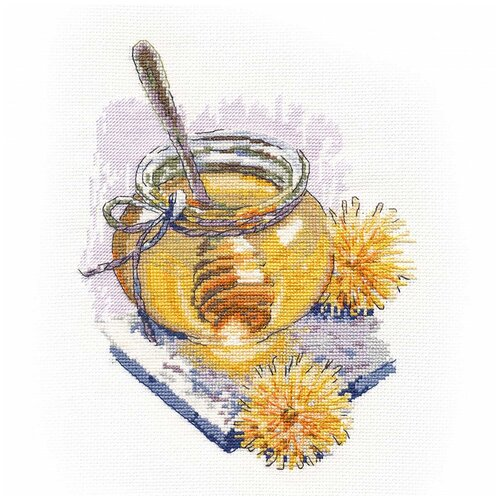 Купить Овен Набор для вышивания Весенний мёд 16 × 22 см (1355), Наборы для вышивания