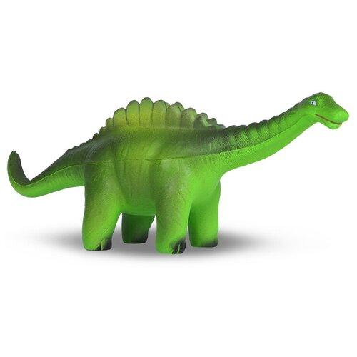 Игрушка-мялка Maxitoys Гигантспинозавр 25 см зелeный