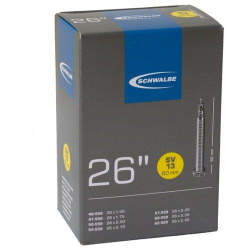 Камера. 26 спорт ниппель 05-10425363 SV13 (40/62-559) IB 60mm. SCHWALBE