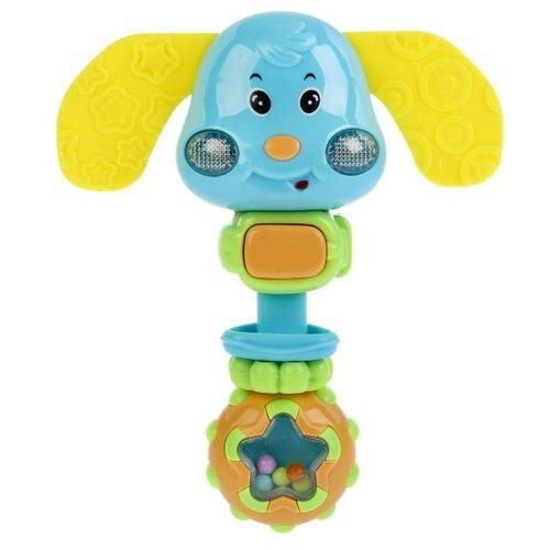 Купить Развивающая игрушка Умка Музыкальная погремушка Собачка, Развивающие игрушки