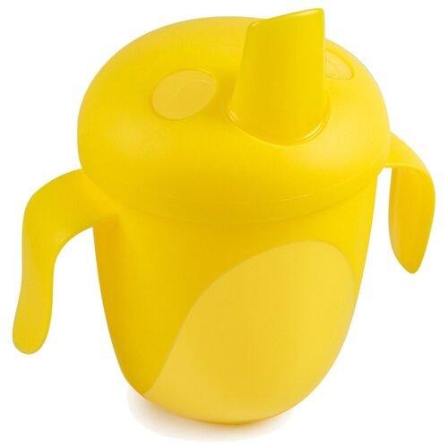 Фото - Чашка-непроливайка Canpol babies Tropical Bird, 240 мл, 9+ месяцев, цвет: желтый (250989470) поильник непроливайка canpol babies tropical bird 76 001 240 мл бирюзовый