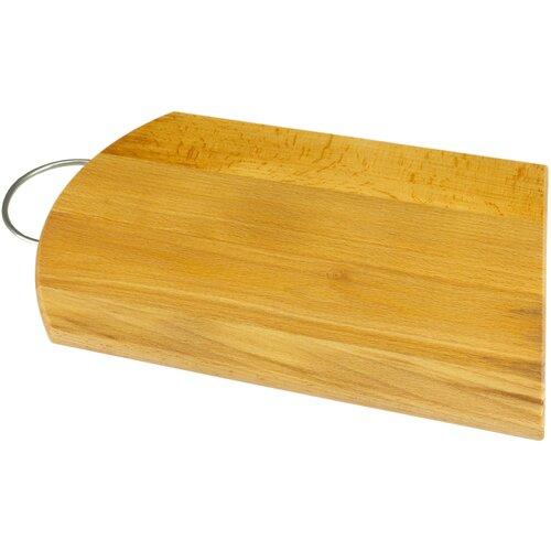 доска разделочная деревянная bohmann bh 02 597 диаметр 25 см Разделочная доска Bohmann BH 02-566, 35х24.5 см, бежевый