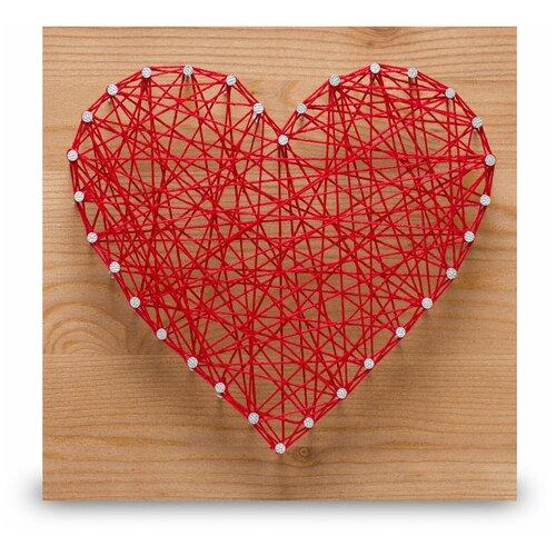 Купить Набор для творчества Стринг Арт. Сердце, String Art Lab, Поделки и аппликации