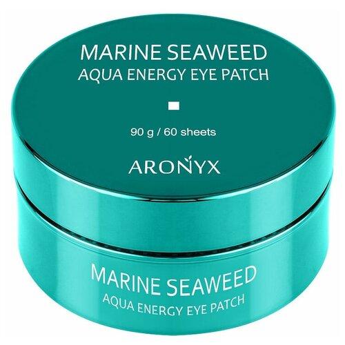 Aronyx патчи для глаз гидрогелевые успокаивающие с морскими водорослями Marine Aqua Energy Eye Patch, 60 шт. aronyx патчи marine aqua energy eye patch гидрогелевые с морскими водорослями 60 шт