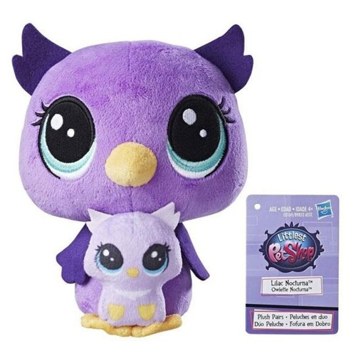 Мягкая игрушка Hasbro Littlest Pet Shop Плюшевыепарочки в ассортименте