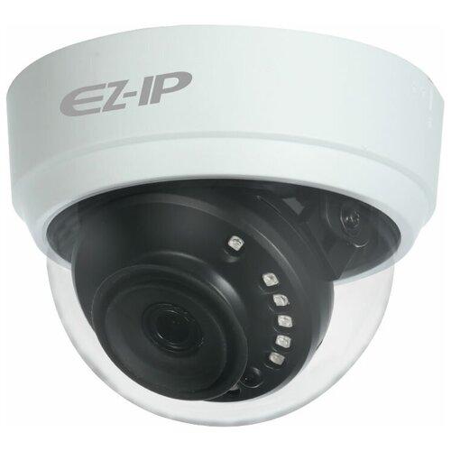 Фото - Видеокамера HDCVI купольная 2Мп EZ EZ-HAC-D1A21P-0280B видеокамера hdcvi купольная ez ez hac t1a11p 0280b