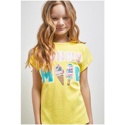 Фото - Футболка для девочек размер 158, желтый, ТМ Acoola, арт. 20210110301 футболка acoola размер 158 белый