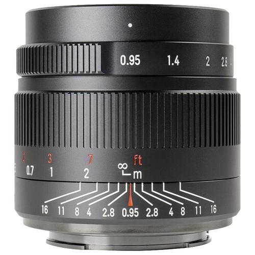 Объектив 7artisans 35mm f/0.95 Fujifilm X черный