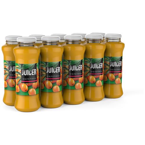 Фото - Нектар Juicer Облепиха, 0.25 л, 10 шт. нектар juicer облепиха без сахара 0 25 л 10 шт