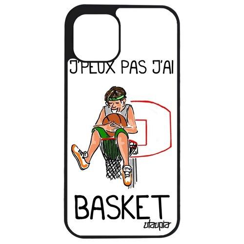 """Чехол для телефонов Apple iPhone 12 mini, """"Не могу - у меня баскетбол!"""" Повод Комикс"""