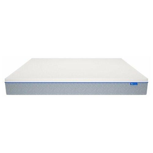 Матрас Blue Sleep Hybrid 2.0, 200x200 см, пружинный, двухзонный, светло-серый
