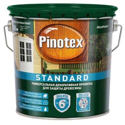 Водозащитная пропитка Pinotex Standard ореховое дерево 2.7 л по цене 1 383