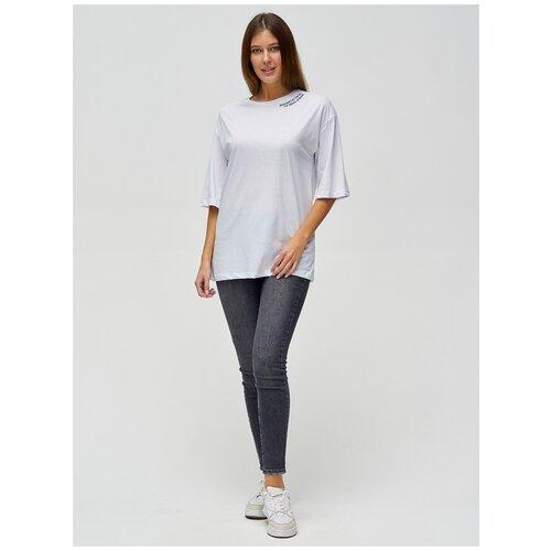 Женские футболки с надписями Белый, 42