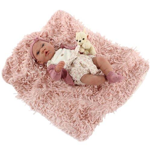 Фото - Кукла Antonio Juan Реборн Фелисидад в розовом, 40 см, 8119P кукла antonio juan антония в розовом 40 см 3376p