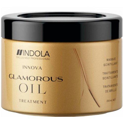 Купить Indola Glamorous Oil Восстанавливающая маска для волос с содержанием ценных масел, 200 мл