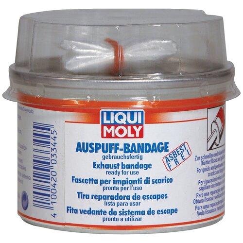 Герметик для ремонта автомобиля Набор для ремонта автомобиля LIQUI MOLY Auspuff-Bandage 3344 бесцветный герметик для ремонта автомобиля набор для ремонта автомобиля liqui moly auspuff bandage 3344 бесцветный