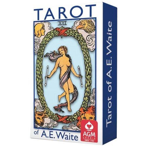 Гадальные карты AGM-Urania Таро A.E.Waite Tarot Blue Edition-Standard, 78 карт