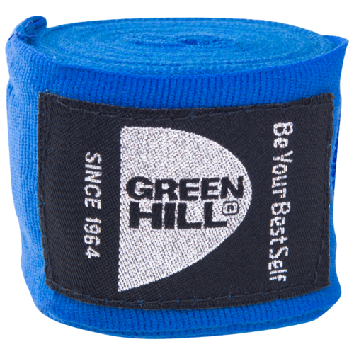 Кистевые бинты Green hill BP-6232d 4,5 м синий