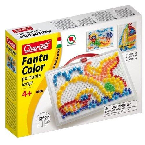 Купить Quercetti Мозаика Фантастические цвета (0950) белый, Мозаики и калейдоскопы