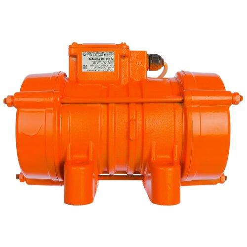 Электрический площадочный вибратор КРАСНЫЙ МАЯК ИВ-98Е оранжевый