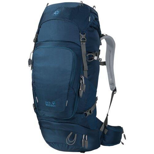 Jack Wolfskin Orbit 38, poseidon blue трекинговый рюкзак jack wolfskin halo 24 corona lime