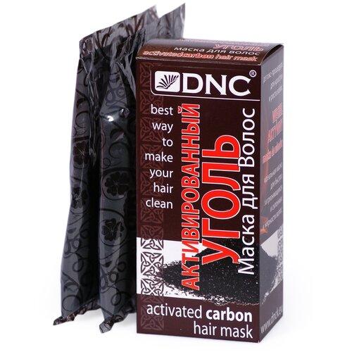 DNC Маска для волос Активированный уголь, 50 г, 2 шт.