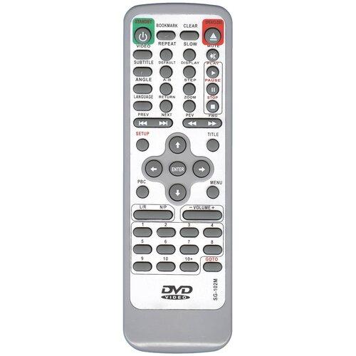 Фото - Пульт Huayu /Rolsen SG-102M/50S dvd для dvd-плеера Rubin (Рубин) пульт 37m10 rubin izumi hyundai для телевизора rolsen