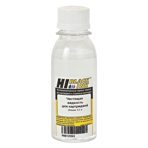 Фото - Чистящая жидкость HI-BLACK для струйных картриджей, универсальная, 0,1 л, 150706002U чистящая жидкость спрей brauberg 513288