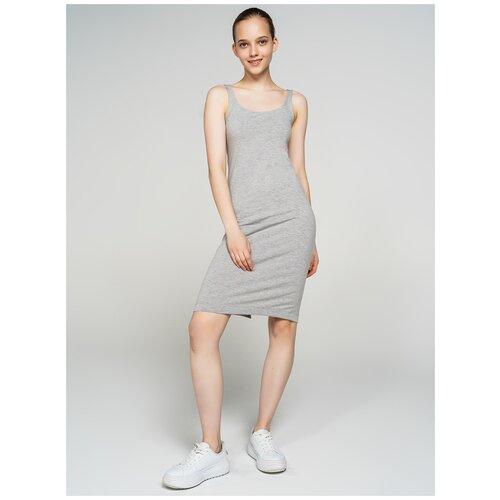 Фото - Платье ТВОЕ 70255 размер M, светло-серый меланж, WOMEN платье oodji collection цвет светло серый меланж 24001104 5b 47420 2000m размер m 46