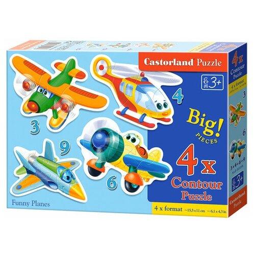 Набор пазлов Castorland Funny Planes (B-005048)