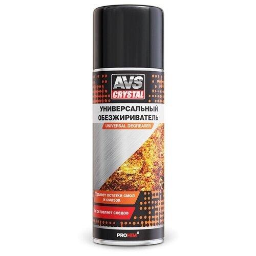 Универсальный обезжириватель AVS AVK-040 (автомобильный обезжириватель поверхностей аэрозоль) 520 мл - A78228S