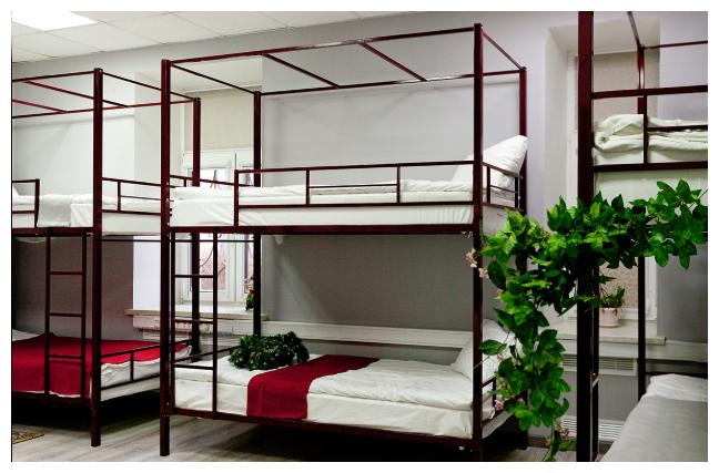 Металлическая двухъярусная кровать для хостела Венеция 1 ЮКА Мебель — купить по выгодной цене на Яндекс.Маркете