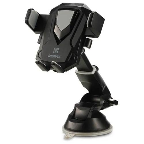 Автомобильный держатель для телефона на присоске Remax RM-C26 - Черный/Серый
