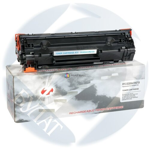 Тонер-картридж 7Q для HP LJ P1102 CE285A/Canon 725 (1.6k) compact box