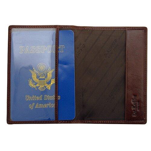 Др.Коффер X510130-42-09 обложка для паспорта