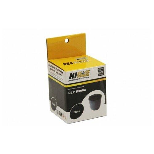 Фото - Тонер-картридж Hi-Black (HB-CLP-K300A) для Samsung CLP-300/300N/CLX-2160/N/3160N/FN, Bk,2K тонер nv print for samsung c300 clp300 300n 350n 2160 2160n 3160 3160n xerox6110 6115 310 315w clx3175fn premium 1kg magenta